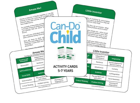 Can-Do Child™ Activity cards - age 5 - 7 years
